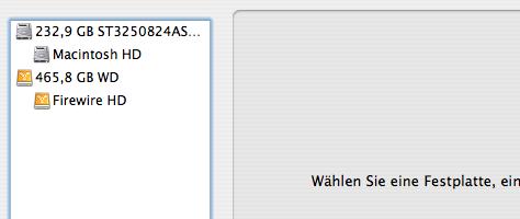 Mac OS X Sicherung | Schritt 2
