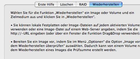 Mac OS X Sicherung | Schritt 3