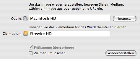 Mac OS X Sicherung | Schritt 4