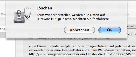 Mac OS X Sicherung | Schritt 6