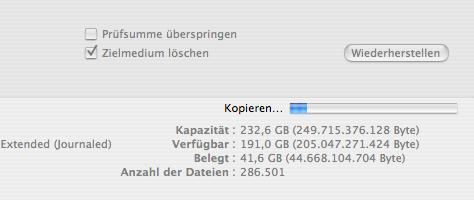 Mac OS X Sicherung | Schritt 7
