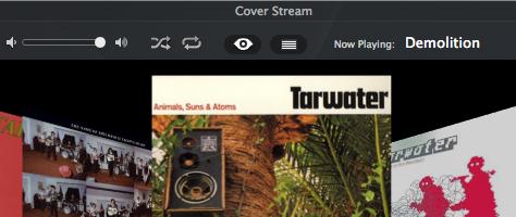 Cover Stream kann Cover Flow