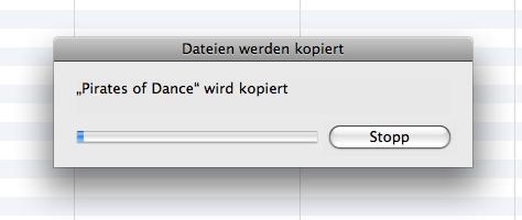 iTunes Daten kopieren