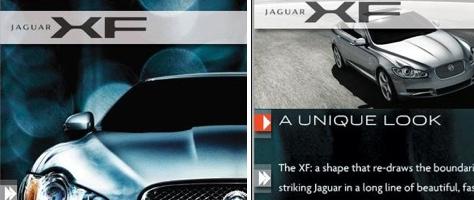 Jaguar XF auf dem iPhone