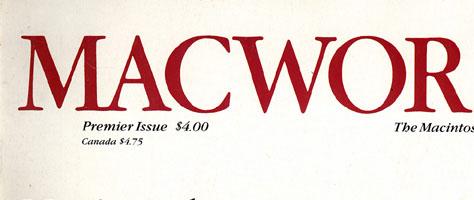 Macworld Titelseite