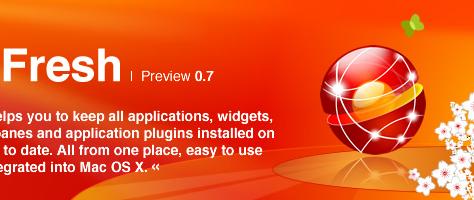 AppFresh - Hält Software, Widgets und Plugins up-to-date