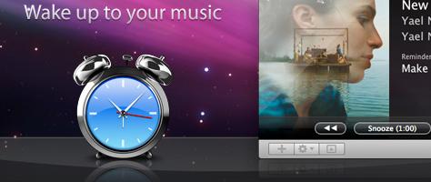 Awaken - Mit iTunes verknüpfter Wecker