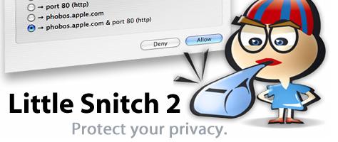 Little Snitch - Überwacher der Netzwerkverbindungen