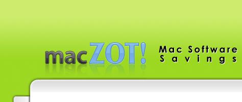 macZOT - Täglich im Preis herabgesetzte Mac-Software
