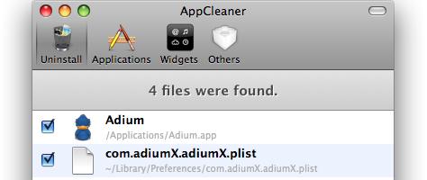 AppCleaner-Devise: Erst prüfen, dann löschen